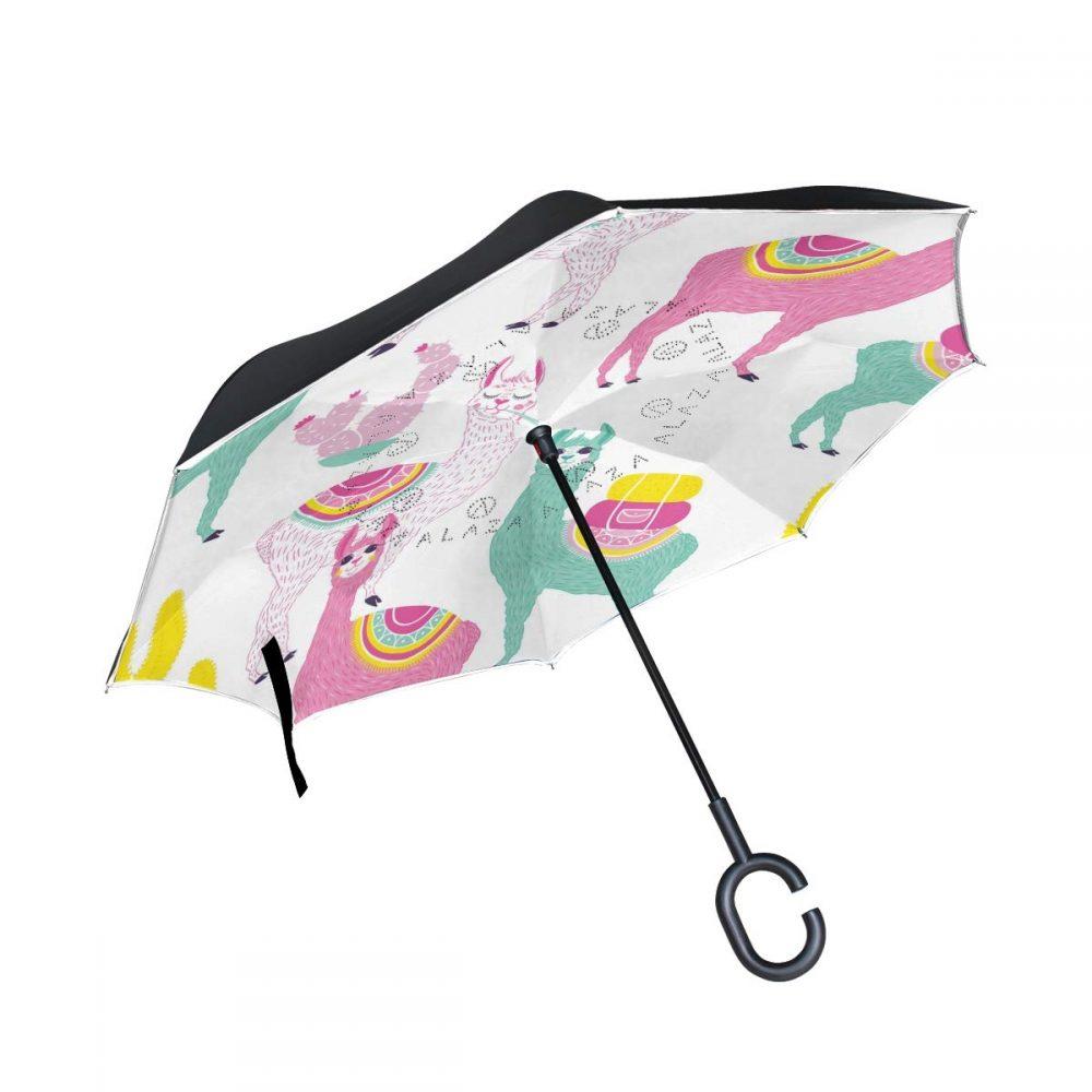 paraguas de llamas