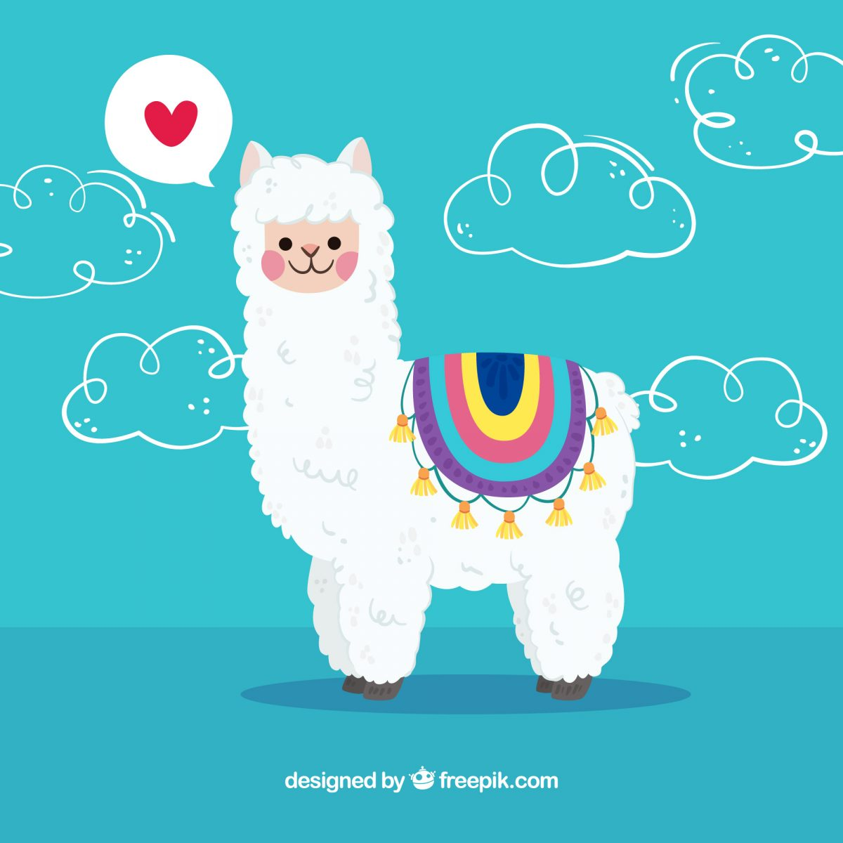 ilustracion llama peruana free download descarga gratis
