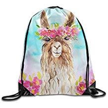 bolsa mochila de llama barata acuarela pastel moda