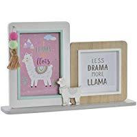 portafotos de llama y alpaca decoracion tendencia