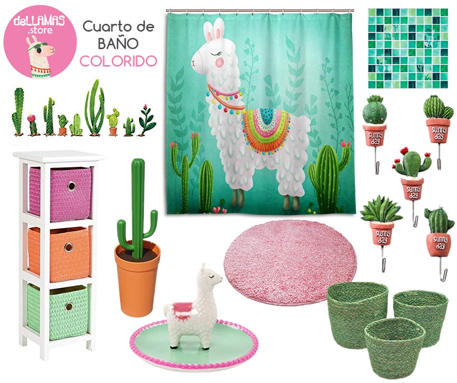 decoracion de baños con llamas ideas